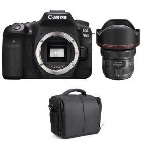 Canon EOS 90D + EF 11-24mm f/4L USM + Sac