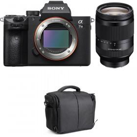 Sony Alpha 7 III + FE 24-240 mm f/3.5-6.3 OSS + Bolsa | 2 años de garantía