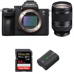 Sony Alpha 7 III + FE 24-240 mm f/3.5-6.3 OSS + SanDisk 64GB Extreme PRO UHS-I SDXC 170 MB/s + NP-FZ100   2 Years Warranty