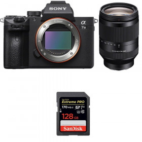 Sony Alpha 7 III + FE 24-240 mm f/3.5-6.3 OSS + SanDisk 128GB Extreme PRO UHS-I SDXC 170 MB/s | 2 años de garantía