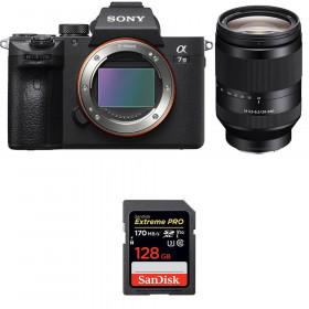 Sony Alpha 7 III + FE 24-240 mm f/3.5-6.3 OSS + SanDisk 128GB Extreme PRO UHS-I SDXC 170 MB/s   2 Years Warranty