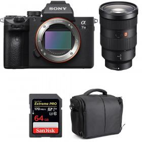 Sony Alpha 7 III + FE 24-70 mm f/2.8 GM + SanDisk 64GB Extreme PRO UHS-I SDXC 170 MB/s + Bolsa