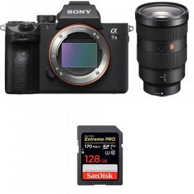 Sony Alpha 7 III + FE 24-70 mm f/2.8 GM + SanDisk 128GB Extreme PRO UHS-I SDXC 170 MB/s
