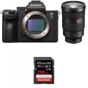 Sony Alpha 7 III + FE 24-70 mm f/2.8 GM + SanDisk 256GB Extreme PRO UHS-I SDXC 170 MB/s | 2 Years Warranty
