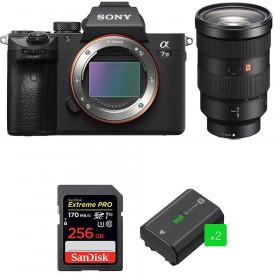 Sony Alpha 7 III + FE 24-70 mm f/2.8 GM + SanDisk 256GB Extreme PRO UHS-I SDXC 170 MB/s + 2 NP-FZ100