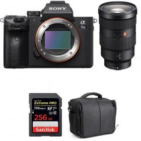 Sony Alpha 7 III + FE 24-70 mm f/2.8 GM + SanDisk 256GB Extreme PRO UHS-I SDXC 170 MB/s + Bag | 2 Years Warranty