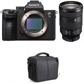 Sony Alpha 7 III + FE 24-105 mm f/4 G OSS + Bolsa | 2 años de garantía