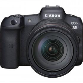 Appareil photo hybride Canon R5 + RF 24-105mm f/4L IS USM