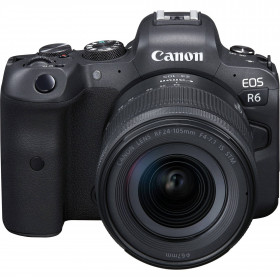 Canon EOS R6 + RF 24-105mm f/4-7.1 IS STM | 2 Years warranty
