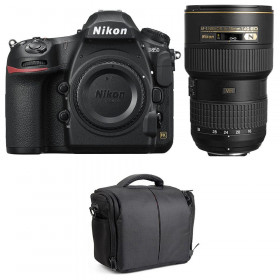 Nikon D850 + 16-35mm f/4G ED VR + Bolsa | 2 años de garantía