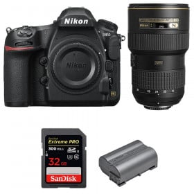 Nikon D850 + 16-35mm f/4G ED VR + SanDisk 32GB Extreme PRO UHS-II SDXC 300MB/s + EN-EL15b | 2 años de garantía