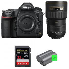 Nikon D850 + 16-35mm f/4G ED VR + SanDisk 32GB Extreme PRO UHS-II SDXC 300MB/s + 2 EN-EL15b | 2 años de garantía