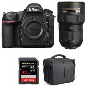 Nikon D850 + 16-35mm f/4G ED VR + SanDisk 32GB Extreme PRO UHS-II SDXC 300MB/s + Bolsa | 2 años de garantía