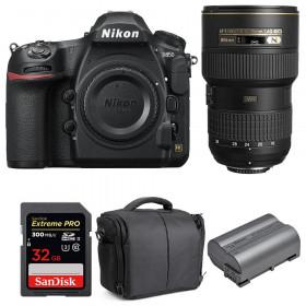 Nikon D850 + 16-35mm f/4G ED VR + SanDisk 32GB Extreme PRO UHS-II SDXC 300MB/s + EN-EL15b + Bolsa | 2 años de garantía