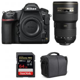 Nikon D850 + 16-35mm f/4G ED VR + SanDisk 64GB Extreme PRO UHS-II SDXC 300MB/s + Bolsa | 2 años de garantía