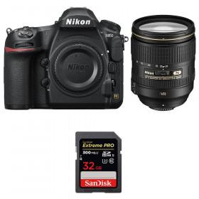 Nikon D850 + 24-120mm F4 G ED VR + SanDisk 32GB Extreme PRO UHS-II SDXC 300MB/s | 2 años de garantía