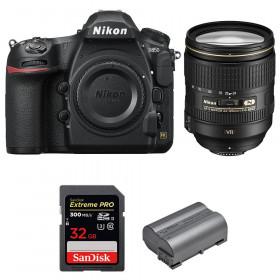 Nikon D850 + 24-120mm F4 G ED VR + SanDisk 32GB Extreme PRO UHS-II SDXC 300MB/s + EN-EL15b | 2 años de garantía