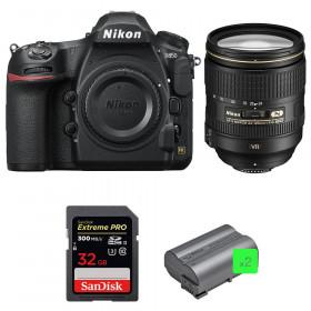 Nikon D850 + 24-120mm F4 G ED VR + SanDisk 32GB Extreme PRO UHS-II SDXC 300MB/s + 2 EN-EL15b | 2 años de garantía