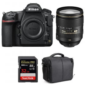 Nikon D850 + 24-120mm F4 G ED VR + SanDisk 32GB Extreme PRO UHS-II SDXC 300MB/s + Camera Bag | 2 Years Warranty