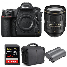 Nikon D850 + 24-120mm F4 G ED VR + SanDisk 32GB Extreme PRO UHS-II SDXC 300MB/s + EN-EL15b + Bolsa | 2 años de garantía