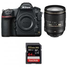 Nikon D850 + 24-120mm F4 G ED VR + SanDisk 64GB Extreme PRO UHS-II SDXC 300MB/s | 2 años de garantía