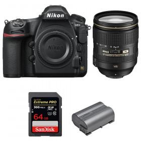Nikon D850 + 24-120mm F4 G ED VR + SanDisk 64GB Extreme PRO UHS-II SDXC 300MB/s + EN-EL15b | 2 años de garantía