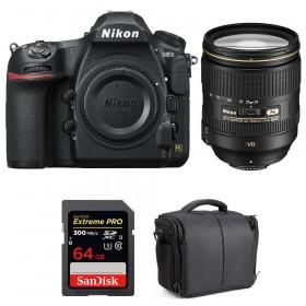 Nikon D850 + 24-120mm F4 G ED VR + SanDisk 64GB Extreme PRO UHS-II SDXC 300MB/s + Bolsa | 2 años de garantía