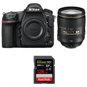 Nikon D850 + 24-120mm F4 G ED VR + SanDisk 128GB Extreme PRO UHS-II SDXC 300MB/s | 2 años de garantía