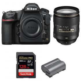 Nikon D850 + 24-120mm F4 G ED VR + SanDisk 128GB Extreme PRO UHS-II SDXC 300MB/s + EN-EL15b | 2 años de garantía