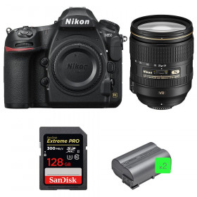 Nikon D850 + 24-120mm F4 G ED VR + SanDisk 128GB Extreme PRO UHS-II SDXC 300MB/s + 2 EN-EL15b | 2 Years Warranty