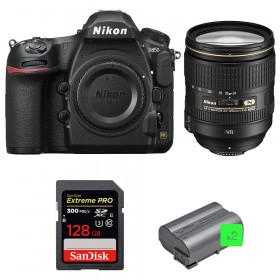 Nikon D850 + 24-120mm F4 G ED VR + SanDisk 128GB Extreme PRO UHS-II SDXC 300MB/s + 2 EN-EL15b