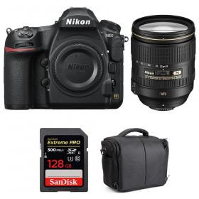 Nikon D850 + 24-120mm F4 G ED VR + SanDisk 128GB Extreme PRO UHS-II SDXC 300MB/s + Bolsa | 2 años de garantía