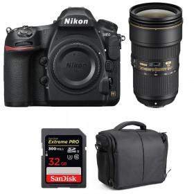 Nikon D850 + 24-70mm f/2.8E ED VR + SanDisk 32GB Extreme PRO UHS-II SDXC 300MB/s + Camera Bag | 2 Years Warranty