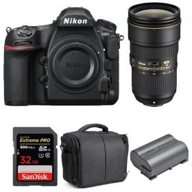 Nikon D850 + 24-70mm f/2.8E ED VR + SanDisk 32GB Extreme PRO UHS-II SDXC 300MB/s + EN-EL15b + Bolsa