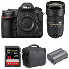 Nikon D850 + 24-70mm f/2.8E ED VR + SanDisk 32GB Extreme PRO UHS-II SDXC 300MB/s + EN-EL15b + Camera Bag | 2 Years Warranty