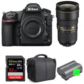 Nikon D850 + 24-70mm f/2.8E ED VR + SanDisk 32GB Extreme PRO UHS-II SDXC 300MB/s + 2 EN-EL15b + Bolsa