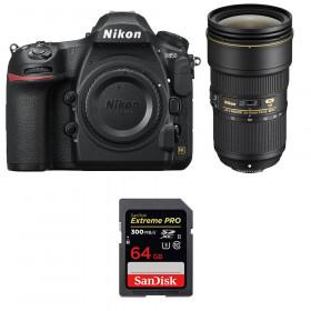 Nikon D850 + 24-70mm f/2.8E ED VR + SanDisk 64GB Extreme PRO UHS-II SDXC 300MB/s | 2 Years Warranty