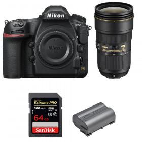 Nikon D850 + 24-70mm f/2.8E ED VR + SanDisk 64GB Extreme PRO UHS-II SDXC 300MB/s + EN-EL15b