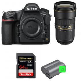 Nikon D850 + 24-70mm f/2.8E ED VR + SanDisk 64GB Extreme PRO UHS-II SDXC 300MB/s + 2 EN-EL15b | 2 Years Warranty