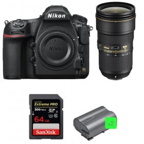 Nikon D850 + 24-70mm f/2.8E ED VR + SanDisk 64GB Extreme PRO UHS-II SDXC 300MB/s + 2 EN-EL15b