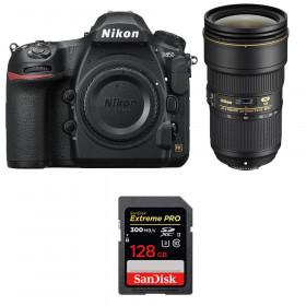 Nikon D850 + 24-70mm f/2.8E ED VR + SanDisk 128GB Extreme PRO UHS-II SDXC 300MB/s | 2 Years Warranty