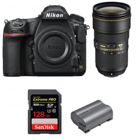 Nikon D850 + 24-70mm f/2.8E ED VR + SanDisk 128GB Extreme PRO UHS-II SDXC 300MB/s + EN-EL15b | 2 Years Warranty