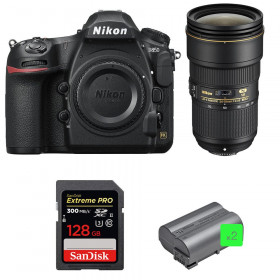 Nikon D850 + 24-70mm f/2.8E ED VR + SanDisk 128GB Extreme PRO UHS-II SDXC 300MB/s + 2 EN-EL15b