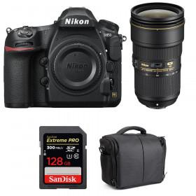 Nikon D850 + 24-70mm f/2.8E ED VR + SanDisk 128GB Extreme PRO UHS-II SDXC 300MB/s + Camera Bag | 2 Years Warranty
