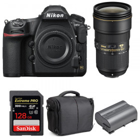 Nikon D850 + 24-70mm f/2.8E ED VR + SanDisk 128GB Extreme PRO UHS-II SDXC 300MB/s + EN-EL15b + Bolsa