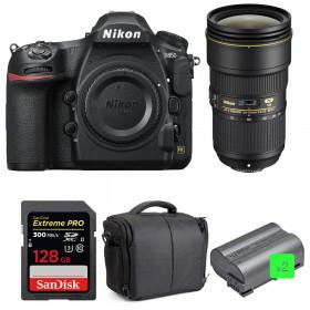 Nikon D850 + 24-70mm f/2.8E ED VR + SanDisk 128GB Extreme PRO UHS-II SDXC 300MB/s + 2 EN-EL15b + Camera Bag | 2 Years Warranty