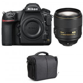Nikon D850 + 105mm f/1.4E ED + Bag | 2 Years Warranty