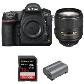 Nikon D850 + 105mm f/1.4E ED + SanDisk 32GB Extreme PRO UHS-II SDXC 300MB/s + EN-EL15b | 2 Years Warranty