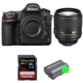 Nikon D850 + 105mm f/1.4E ED + SanDisk 32GB Extreme PRO UHS-II SDXC 300MB/s + 2 EN-EL15b