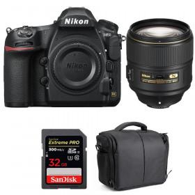Nikon D850 + 105mm f/1.4E ED + SanDisk 32GB Extreme PRO UHS-II SDXC 300MB/s + Camera Bag | 2 Years Warranty